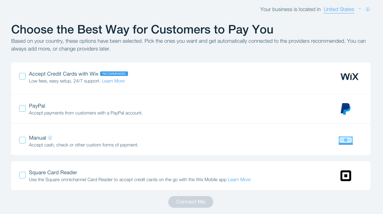 Accepting Payments on Your Wix Site | Help Center | Wix com