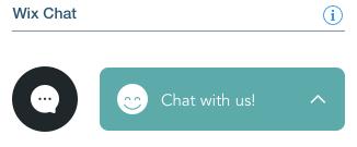 Wix chat box