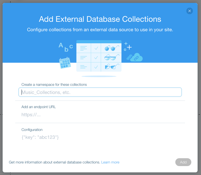 Corvid: Adding and Deleting an External Database Collection | Help ...