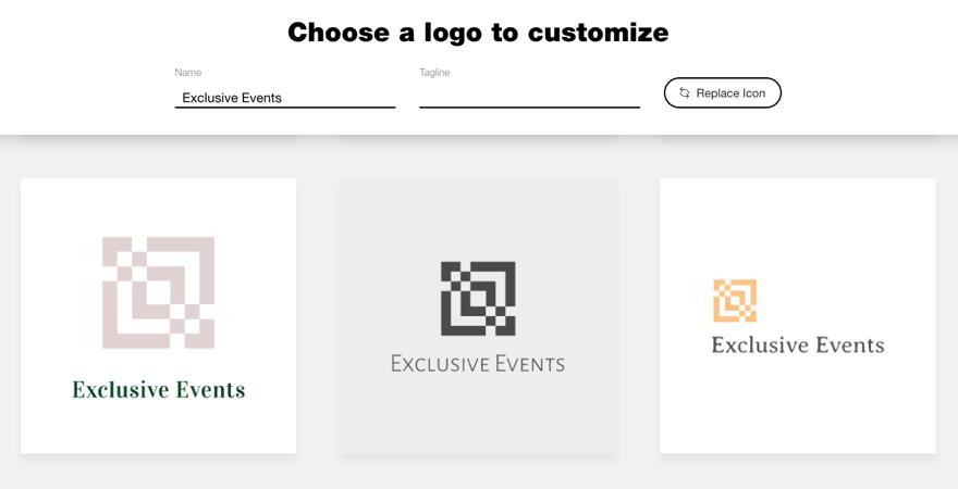 Creating a Logo with the Wix Logo Maker | Help Center | Wix.com