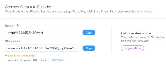Live Streaming from Desktop | Help Center | Wix com