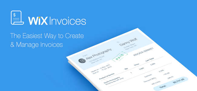 About Wix Invoices Help Center Wixcom - Online invoices inc