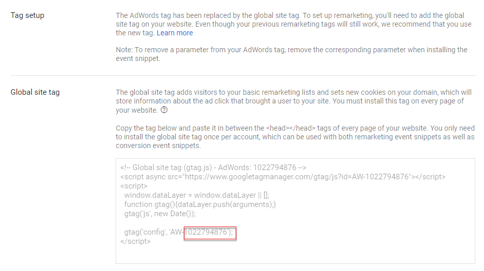 Adding Your Google Ads Remarketing Code to Your Wix Site   Help ...