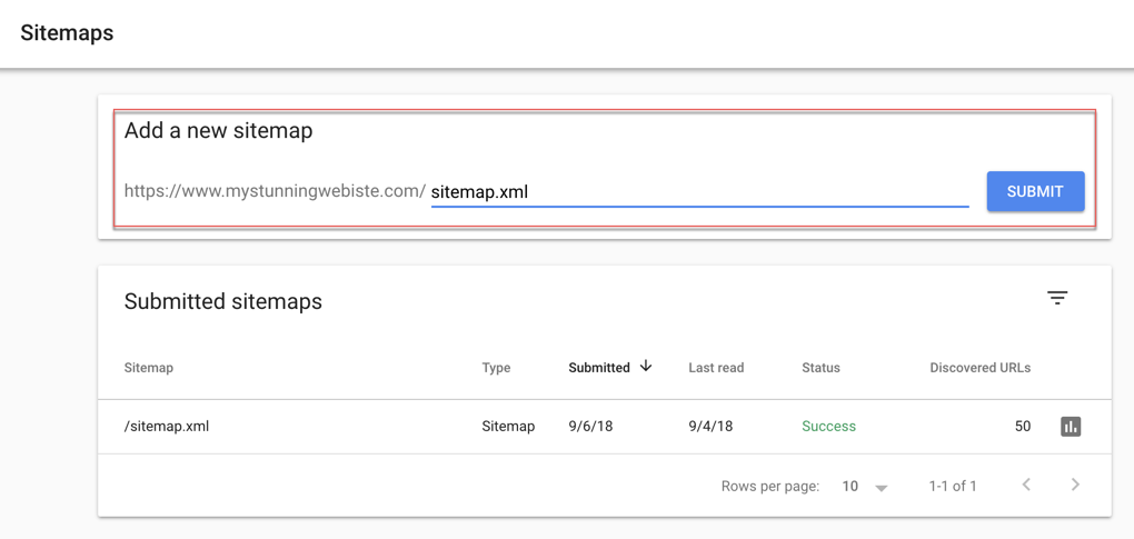 Submitting Your Sitemap Directly To Google
