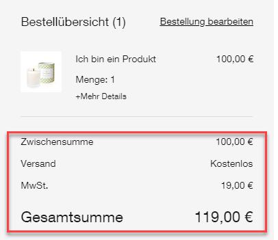 6ba8ed816b09 Produktpreise inklusive Mehrwertsteuer bei Wix Stores anzeigen ...