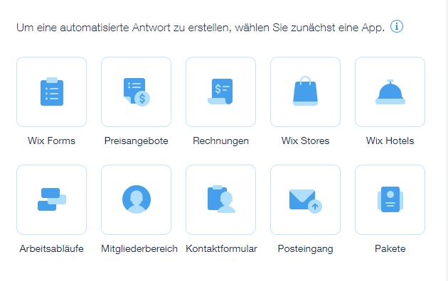 Eine Neue Automatisierung Erstellen Support Zentrum Wixcom