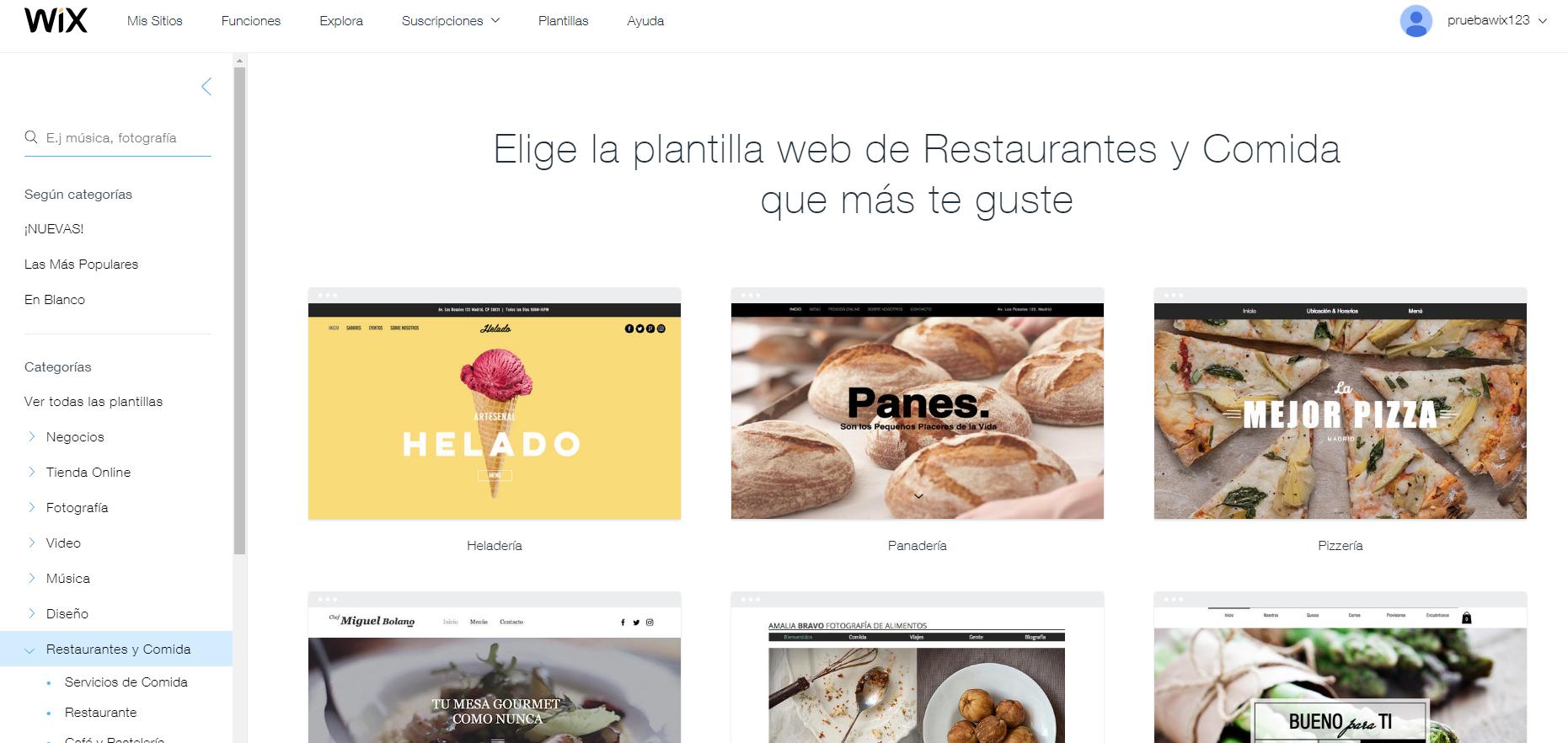 Plantillas para profesionales del sector de gastronomía   Centro de ...