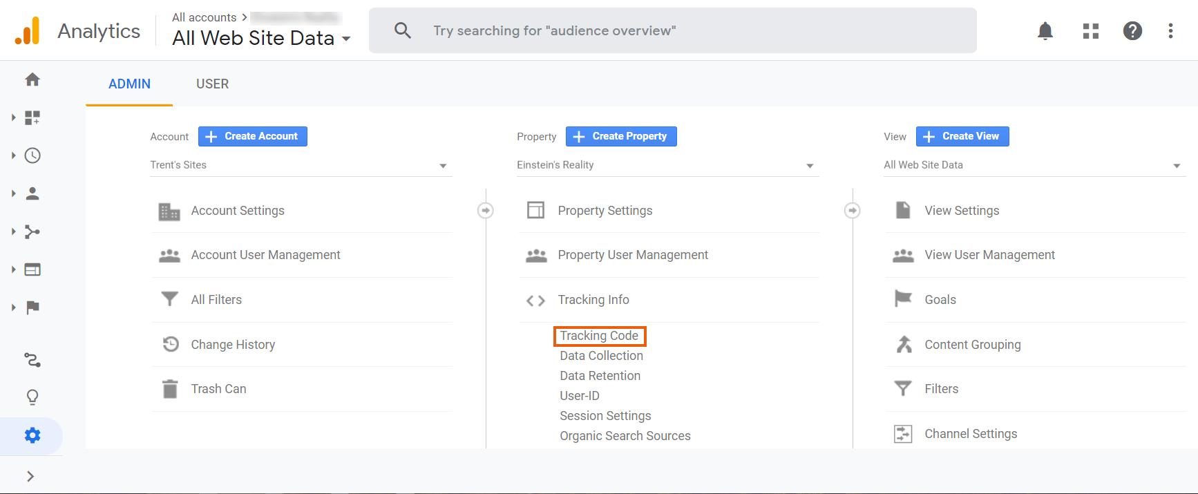 הוספת מזהה המעקב של Google Analytics לאתר Wix