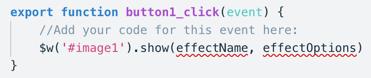 Corvid Tutorial: Adding Custom Interactivity with Events