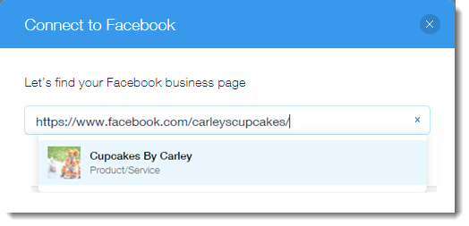 Finding Your Facebook Business Page | Help Center | Wix com