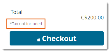 To Add A Disclaimer The Shopping Cart Page
