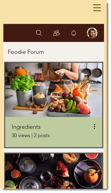 Using Wix Forum on a Mobile Device   Help Center   Wix com