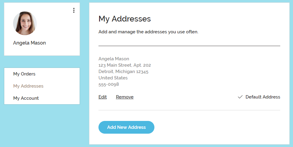 791a17f6cf3a About Your Customers  Members Pages in Wix Stores