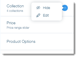 Adding Sort and Filter Options to Your Wix Stores Product