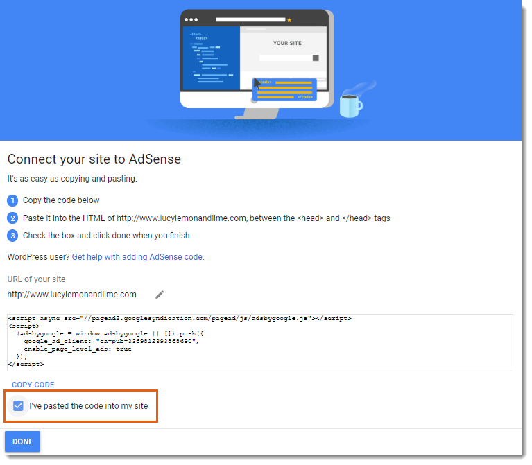 Adding and Setting Up the Google AdSense App | Help Center