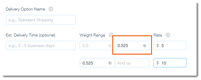 Request: Using Ounces (oz ) and Grams (gr ) in Wix Stores