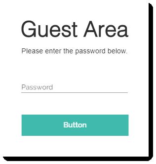 password protect wix site