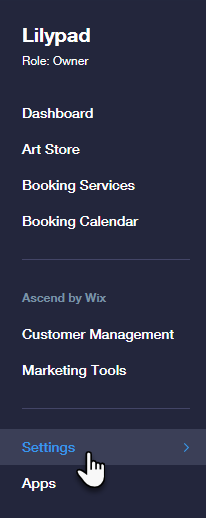 Accessing Payment Setup in Wix Bookings | Help Center | Wix com