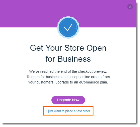 Previewing the Checkout Process in Wix Stores | Help Center | Wix com