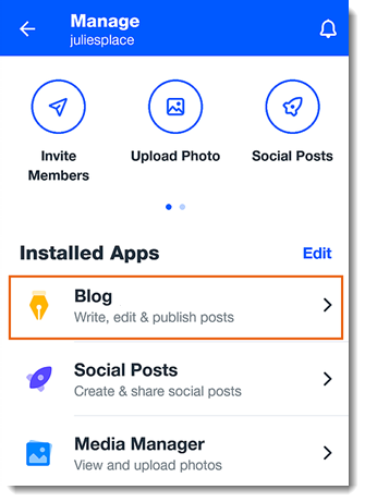 Creating a Blog Post in the Wix Mobile App | Help Center
