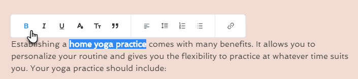 Editing Text in New Wix Blog Posts | Help Center | Wix com
