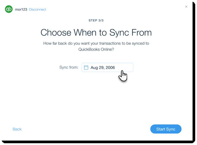 Adding and Setting Up the QuickBooks App | Help Center | Wix com