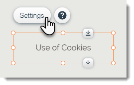Adding and Setting Up the Cookie Alert Popup App | Help