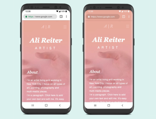 Wix Editor Changing The Browser Theme Color On Your Mobile Site Help Center Wix Com