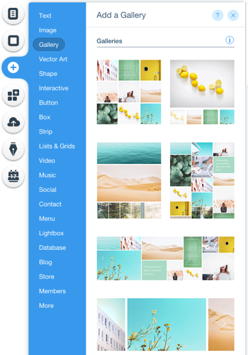 Wix Editor Adding Elements To Your Site Help Center Wix Com