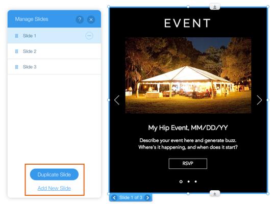 About Slideshows | Help Center | Wix com