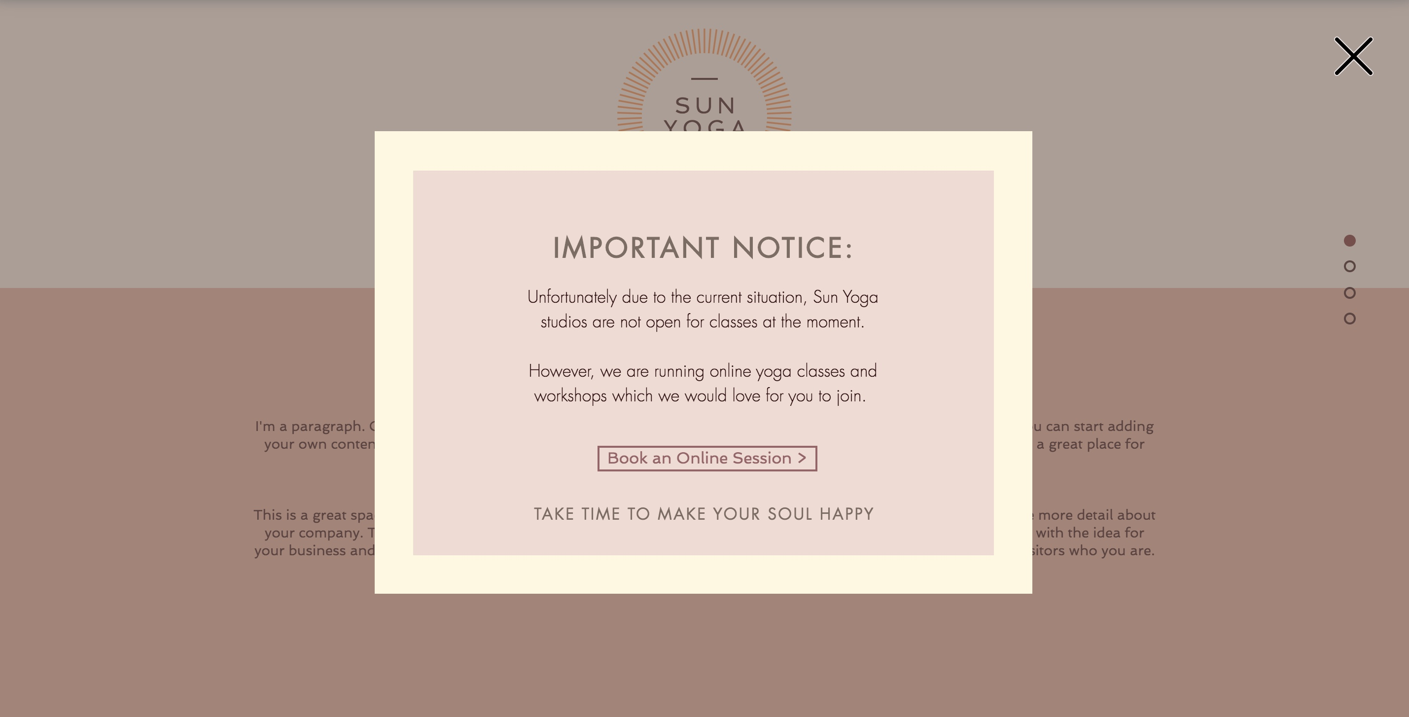 Adding An Announcement To Your Site Help Center Wix Com