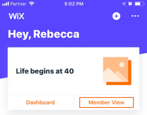 Adding Members to Your Group in the Wix Mobile App | Help Center