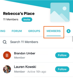 Hiding Your Members Tab in the Wix Mobile App | Help Center | Wix com