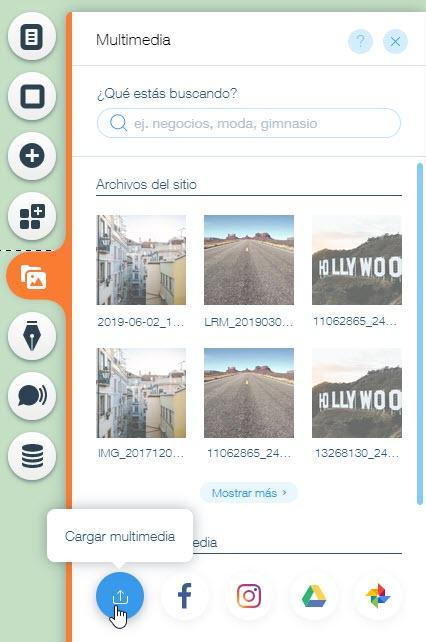 Editor De Wix Cargando Documentos Pdf Doc Xls Etc Centro De Ayuda Wix Com