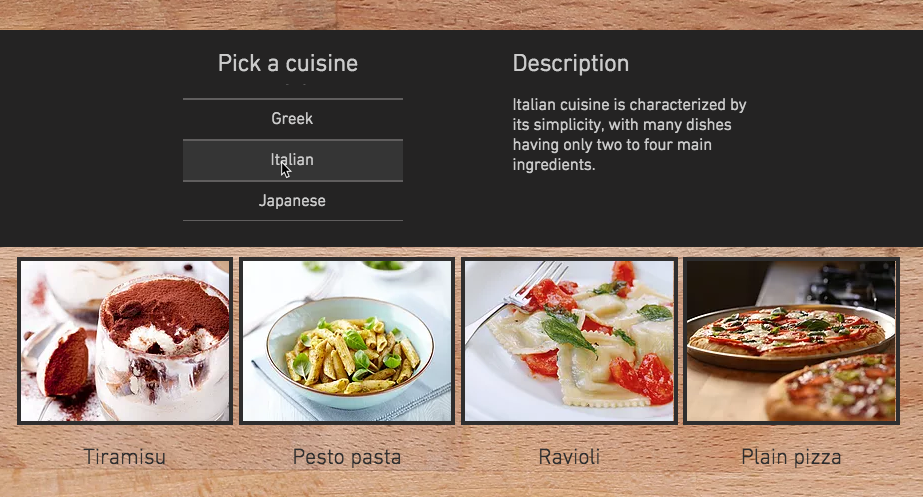 Filtering one dataset by a second dataset help center wix to avoid unnecessary duplication you stored the cuisine descriptions in a separate collection from your recipes your recipes collection includes a field forumfinder Choice Image