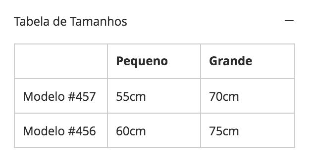 8430f5edcd Personalizando o Design da Tabela na Seção de Informações do Produto ...