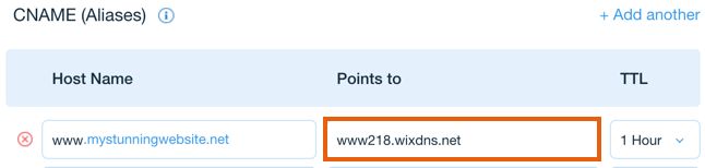 Connecting a Wix Domain to an External Site | Help Center