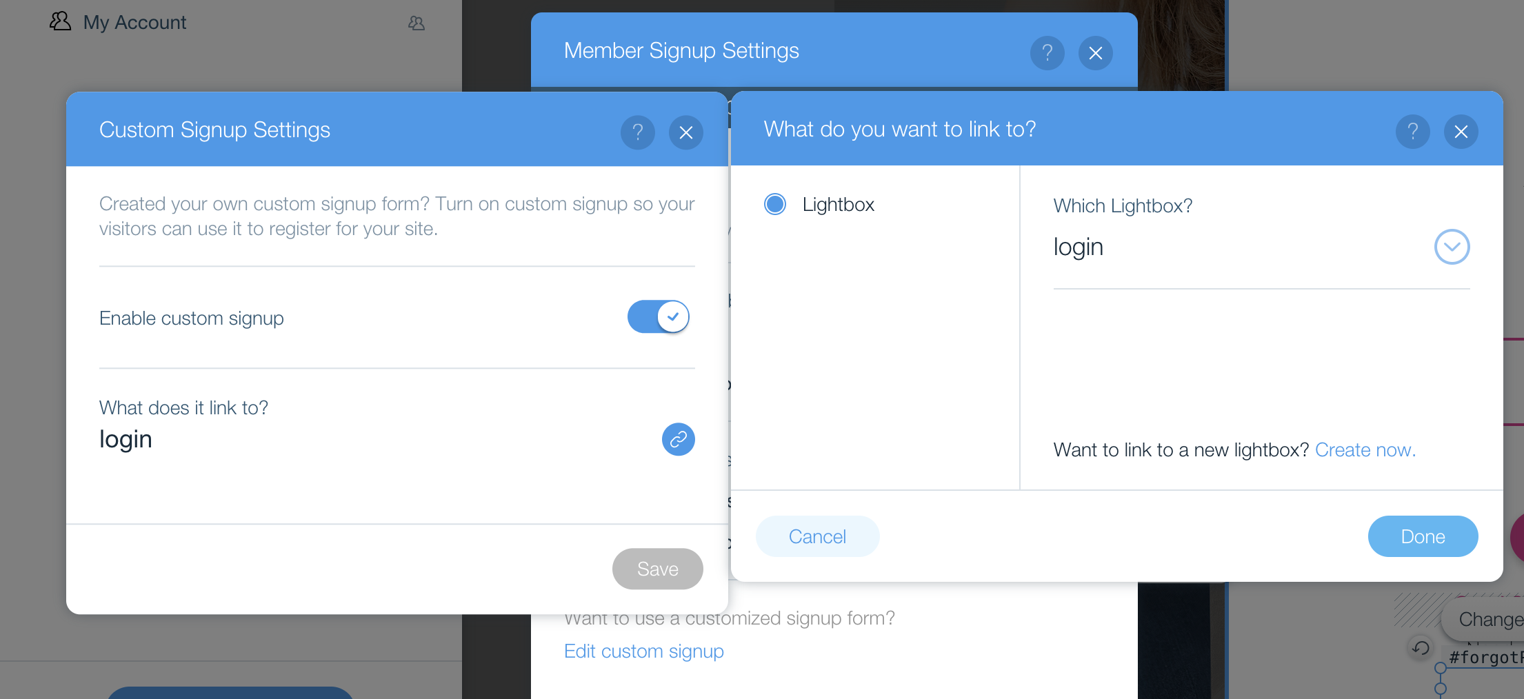 Create custom Log In / Sign On Screen using Wix Code - https