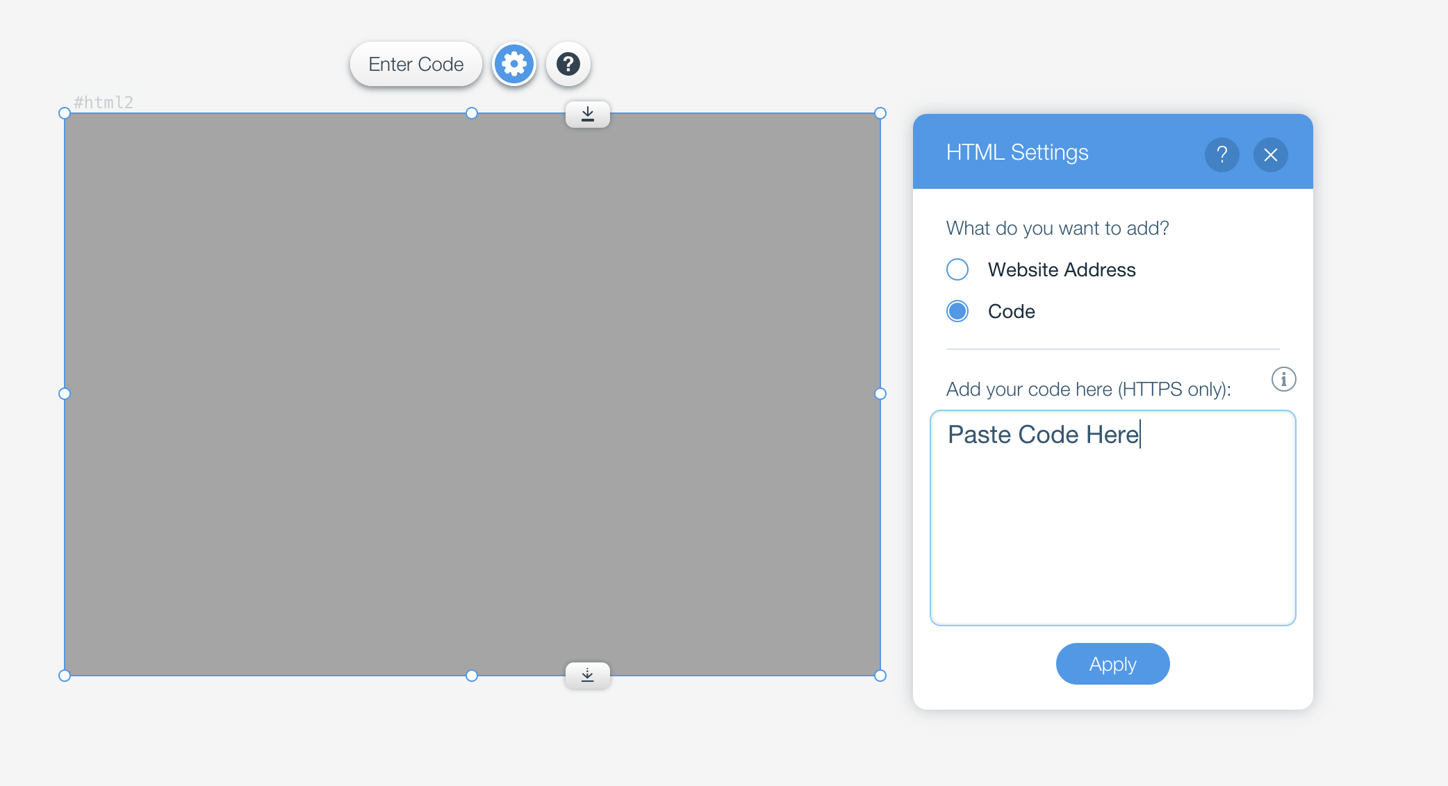 Embed Google Reviews using HTML iFrame on Wix (without using