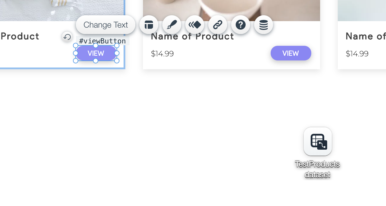 Open a lightbox when clicking an item in a Repeater using a