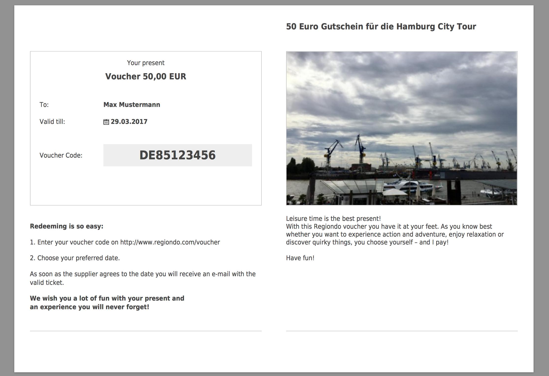 sistema di prenotazione online_voucher buoni regalo_regiondo