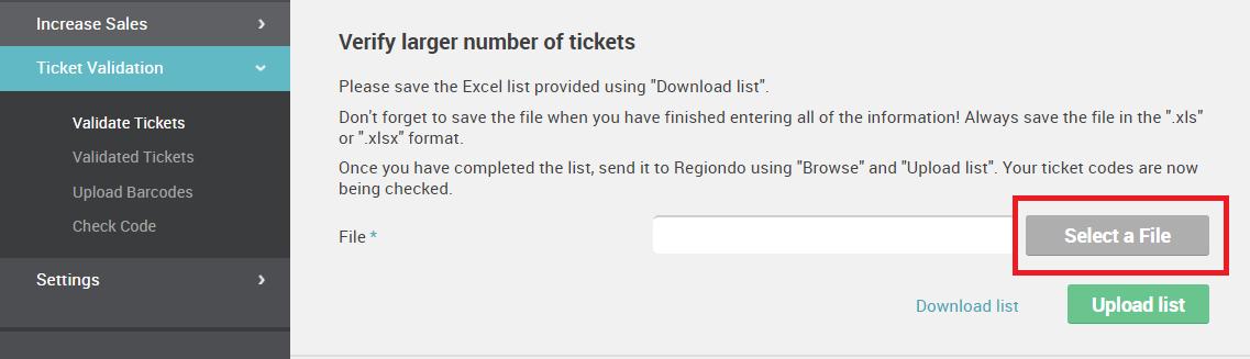 Wie kann ich meine Tickets validieren?   Regiondo GmbH Hilfe-Center