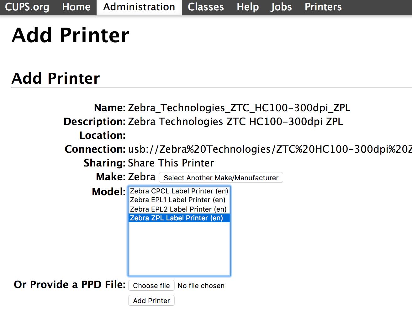 How to set up a Zebra HC100 printer and print tickets - Regiondo