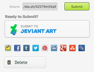 Sharing Sta sh Content - DeviantArt Knowledge Base