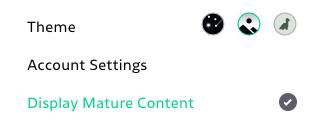 Filter mature deviantart app 3 Formas
