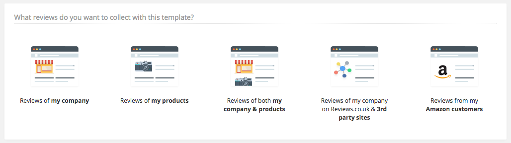 How to create your customised review invitation email template choose the review invitation email type which is relevant to your goal stopboris Image collections