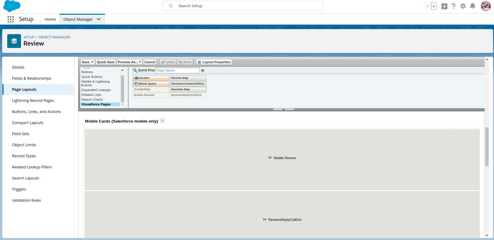 Integration: Salesforce Optional Configuration