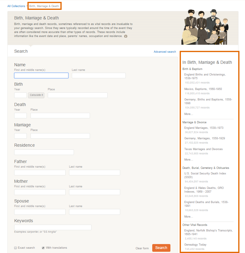 How do I use SuperSearch? - MyHeritage Knowledge Base