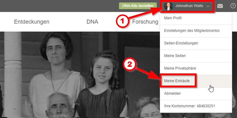 Wie beende ich mein kostenloses Probeabo? | MyHeritage