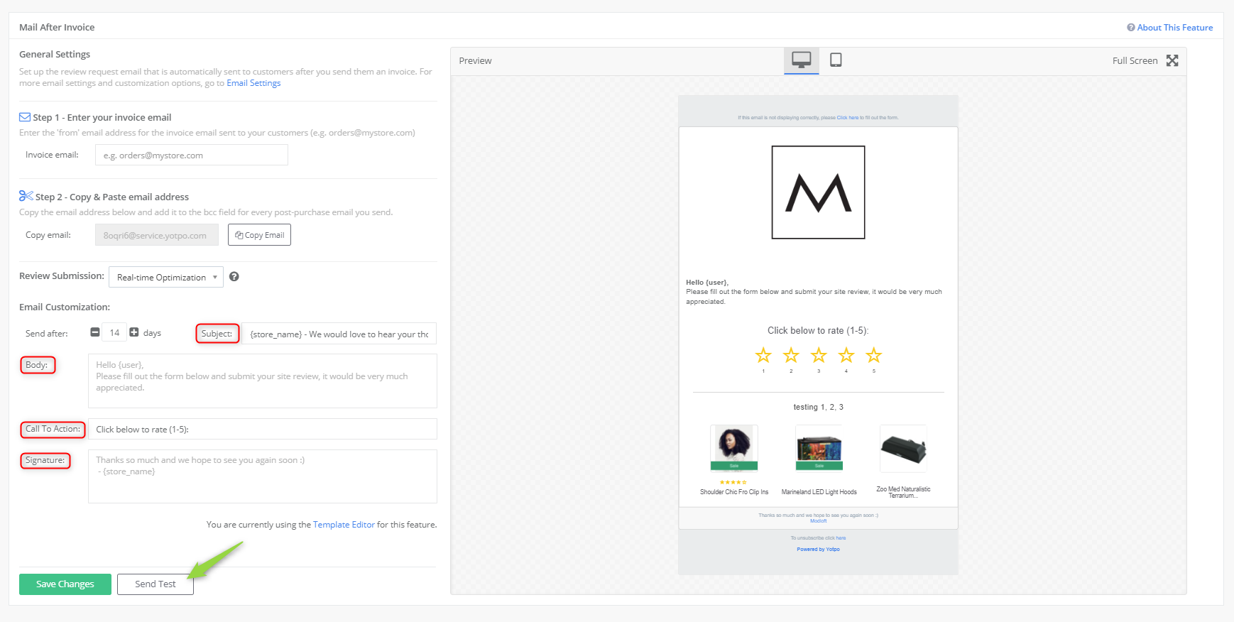 Site Review After Invoice Yotpo Support Center - Invoice asap reviews